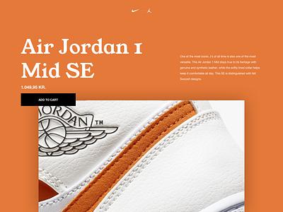 Air Jordan 1 Mid SE sneakers