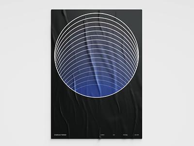 Charlie Tango Poster Series - Circles print design print poster brand identity identity brand branding posters poster design poster art