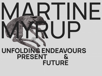Martine Myrup - Page Transition hover effect hover page transition