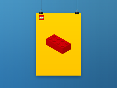 LEGO Posters poster design graphic design lego posters poster print design print