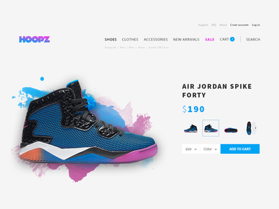 Hoopz.dk Product Page