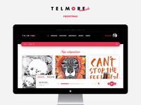 Telmore frontpage