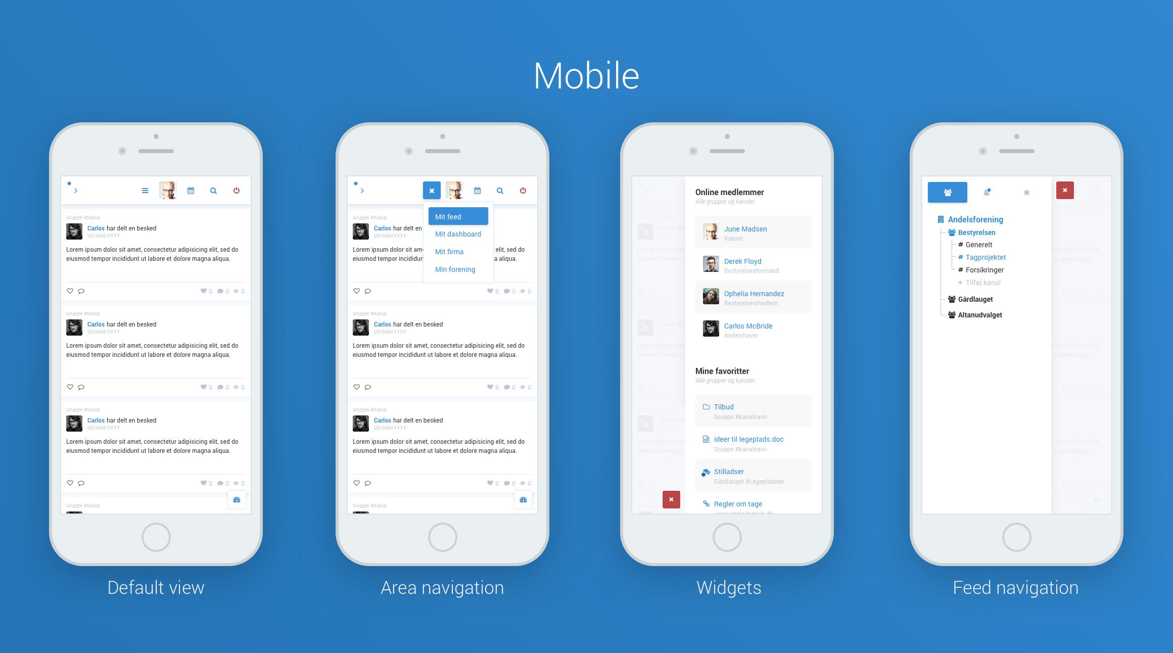Social navigation mobile