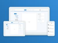 Social Platform - navigation