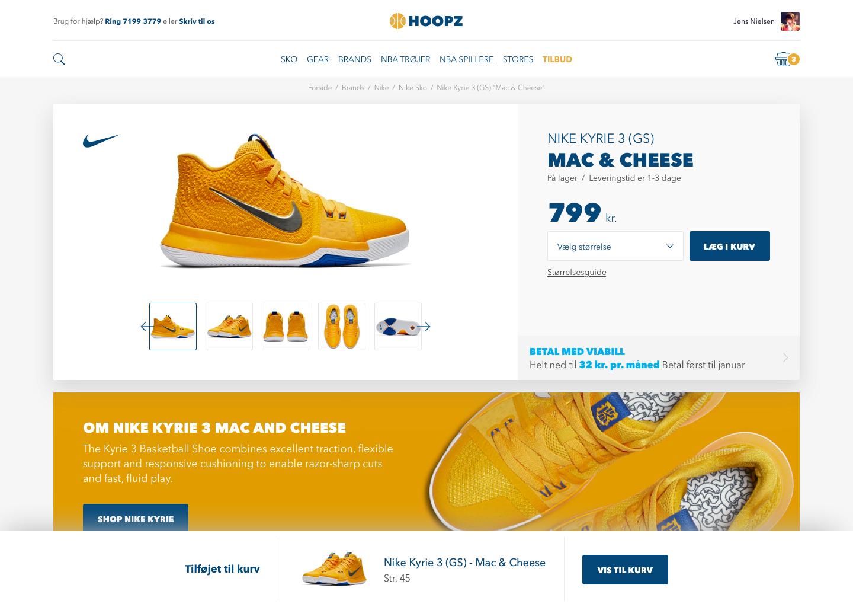 Hoopz   cart   item added