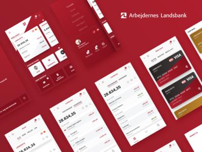 AL MobilBank - All screens