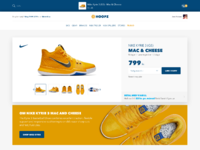 Hoopz productpage add to cart