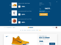 Hoopz productpage view cart