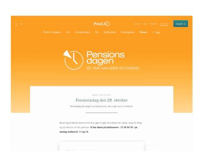 PenLiv - article page rotato design camera design pension content article page