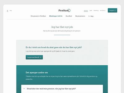 PenLiv - Content Page design design camera rotator pension content page content design content