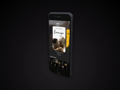 Grand Home - log in ui animation motion principle app principle ux ui home screen app mobile sign in page log in screen log in streaming movie app movie