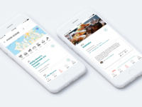 Airbnb City Guides - Mobile App Design