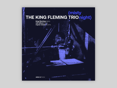 King Fleming Trio - Misty Night
