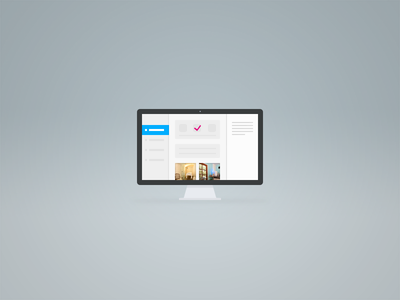 App UI imac screen computer graphic ui app icon apple