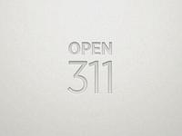Open311 Logo