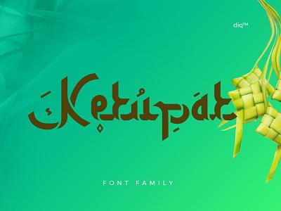 Ketupat Font Family minimal