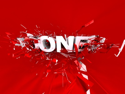 indONEsia mental ray red typography 3ds max indonesia