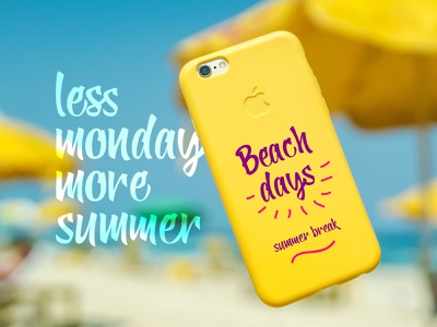 Yellow Ginger Font in use holiday cool cute chic fancy trendy playful fresh bright summer fun casual script