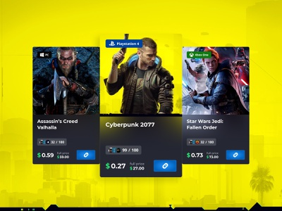 Games Cards design shop game cards store product ecommerce card game ux ui figma