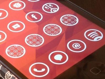 New iPhone theme