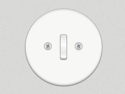 Light switch in Sweden - Rebound
