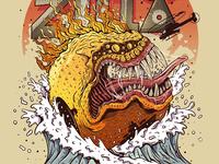 PAC-ZILLA illustration