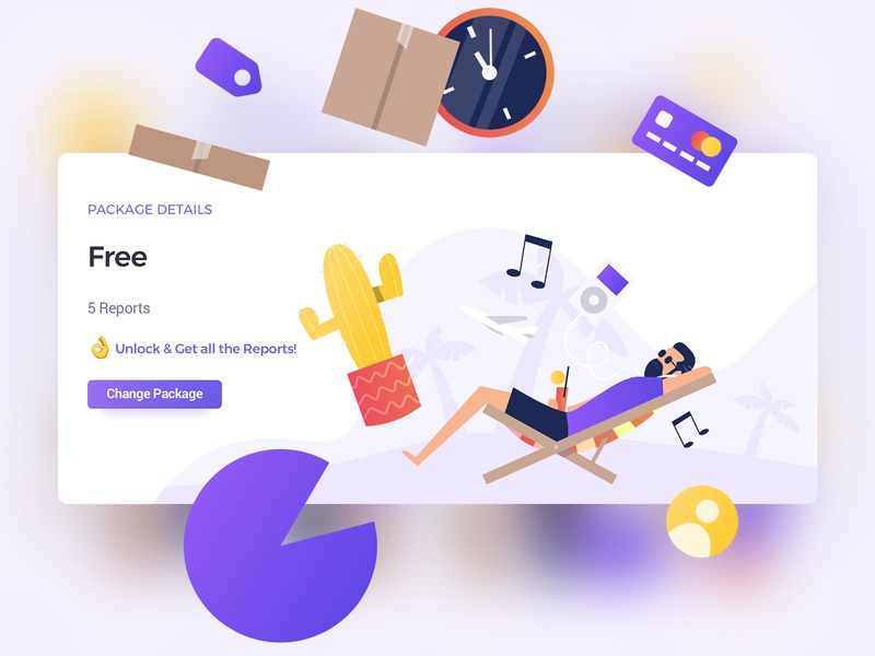 Flat illustrations & UI Design flat website ecommerce uxui ux ui character characterdesign illustration