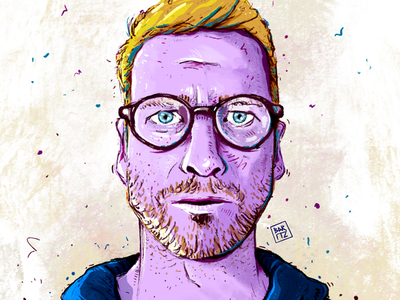 Self-portrait selfportrait procreate digitalart portrait illustration