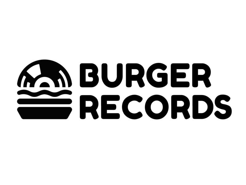 Burger Records records burger redesigned logo