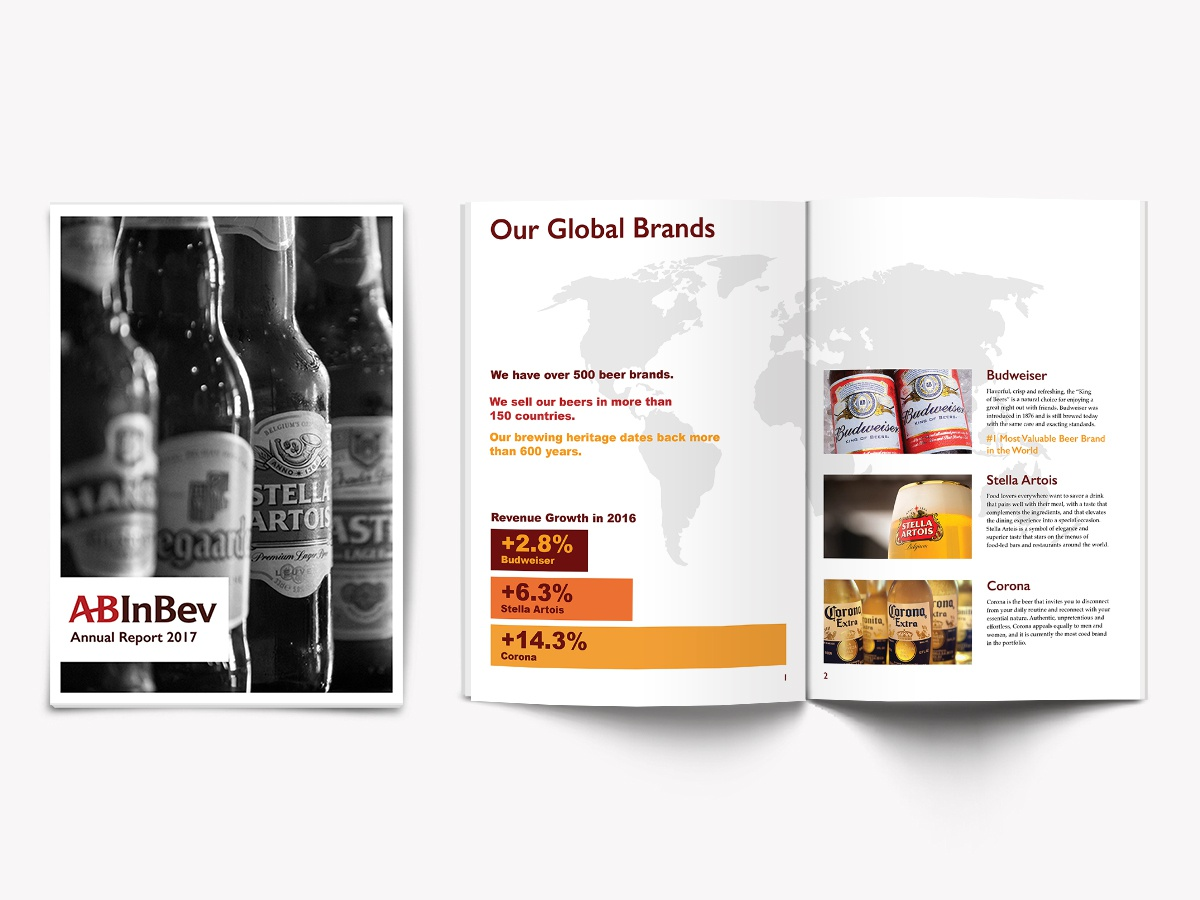 Annual Report Design concept design print design branding design layout design annual report
