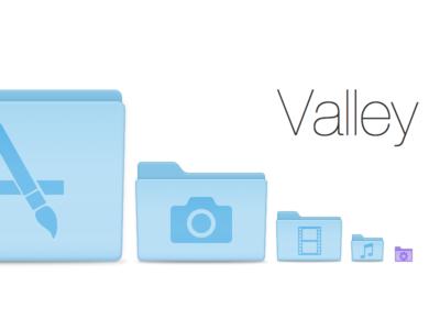 Valley Folders for Yosemite valley folders folder icon yosemite 10.9 finder desktop mac os x os x