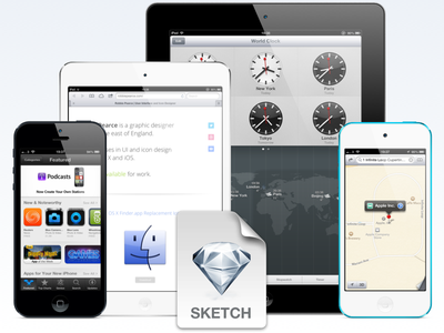 iOS Devices for Sketch.app ios iphone ipad mini sketch sketch.app free download resource resources ipad mini