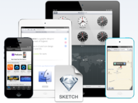 iOS Devices for Sketch.app