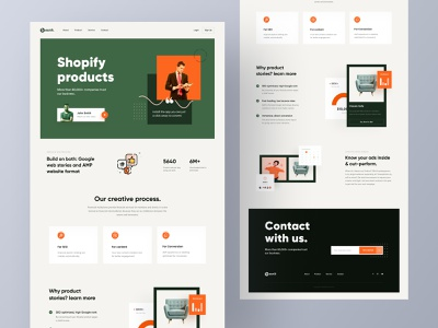 Product Stories website design agency creative agency besnik creative agency graphic design productdesign product card uiux design agency digital product design web uiux web template web ui uiux design brand website design digital prodcut review landing page ecommerce product design product landing page