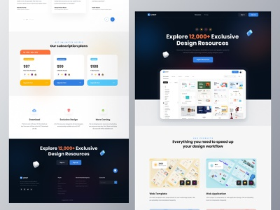 UI HUT ui kits design resources web app resources freebie illustration resources icon resources mobile ui resources web template uiux design resources ux design resource life time deal ui resources uihut besnik