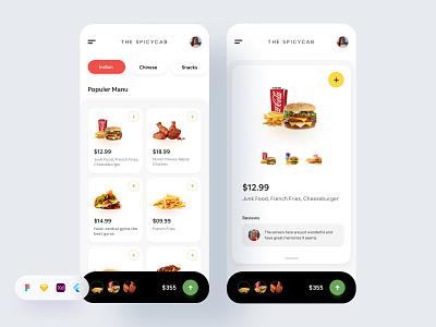 Restaurant App. ecommerce app ecommerce restaurant app food app trendy app modern app ui kit app ui kit app kit ui app app ui app design website design product design uiux design agency uiux design besnik
