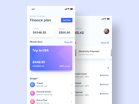 Financial ios app