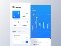 Health activity tracker app