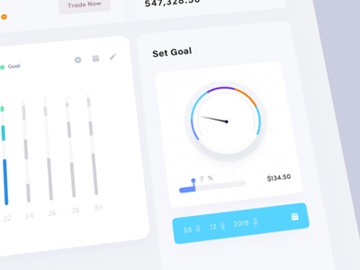 Invest activity Dashboard Animation