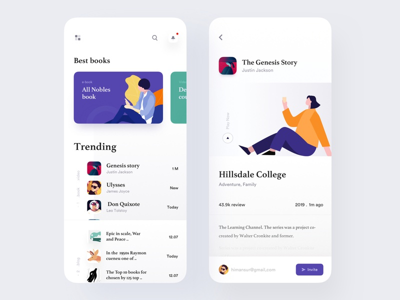 Book Reading app ui designer dribbble freelance designer design product page e book app book app book reading app ux design ui design product designs app concept best design luova studio app ui analytic dashboard app colorful app modern app design app design mobile application