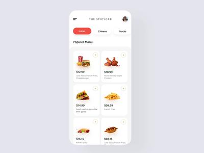 Restaurant App Interaction