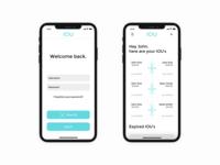 IOU App - Final Design