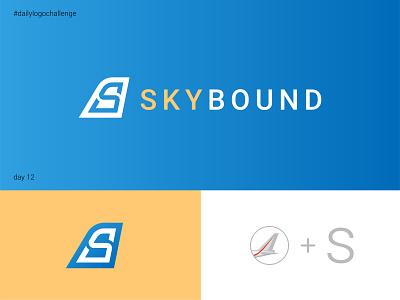 Skybound logo vector logo design graphic illustrator typo dailylogochallenge