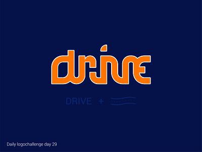 Drive logo logo vector dailylogochallenge typo illustrator graphic design
