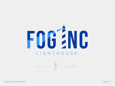 Fog Inc logo procreate createlogo typedesign logotype dailylogo illustration vector logo dailylogochallenge typo illustrator graphic design