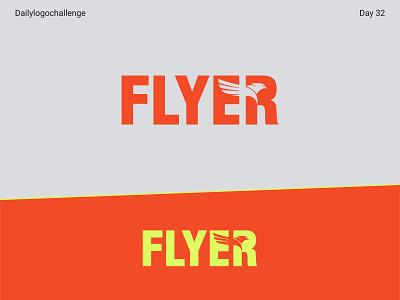 Flyer logo logotype dailylogo illustration vector logo dailylogochallenge typo illustrator graphic design