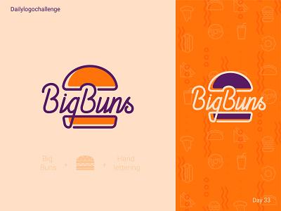 Big Buns logo procreate createlogo typedesign logotipo logotype dailylogo branding illustration vector logo dailylogochallenge typo illustrator graphic design