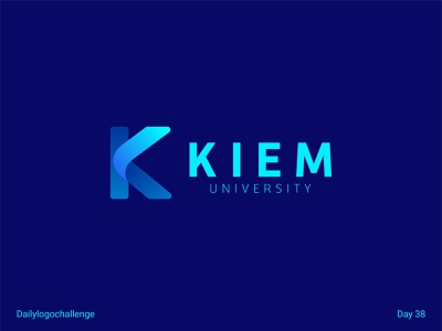 Kiem logo typedesign logotype dailylogo vector logo dailylogochallenge typo illustrator graphic design
