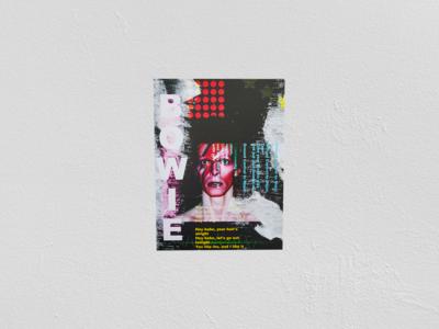 David Bowie Poster Print