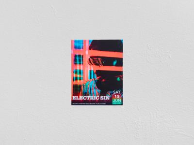 Music Flyer Print